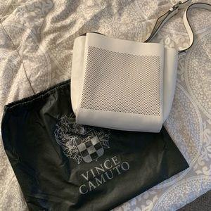 Vince Camuto white crossbody